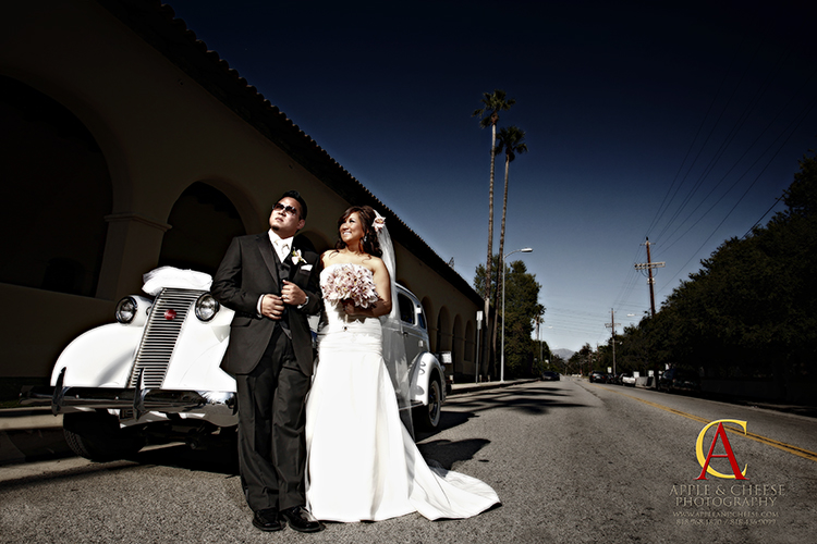 Jhay-R and Vanessa - Wedding Photographer San Fernando Mission Church Mission Hills CA