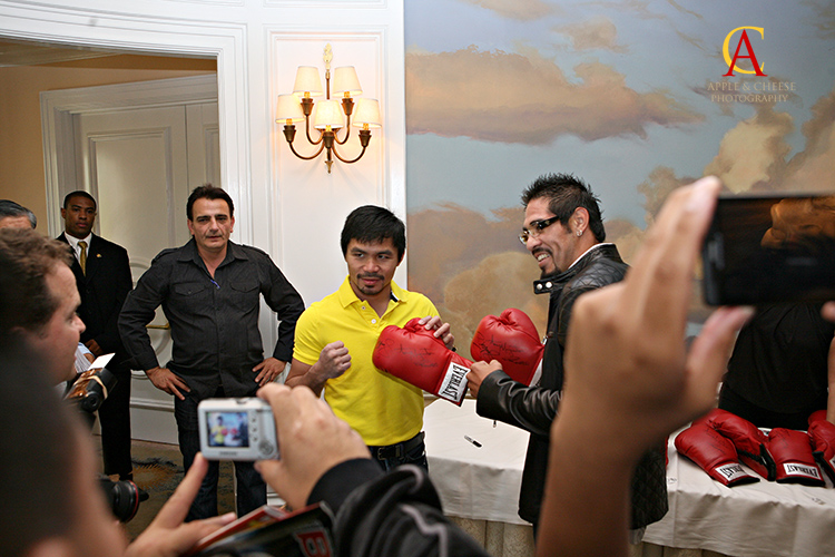 Manny Pacquiao vs Antonio Margarito Beverly Hills Press Con