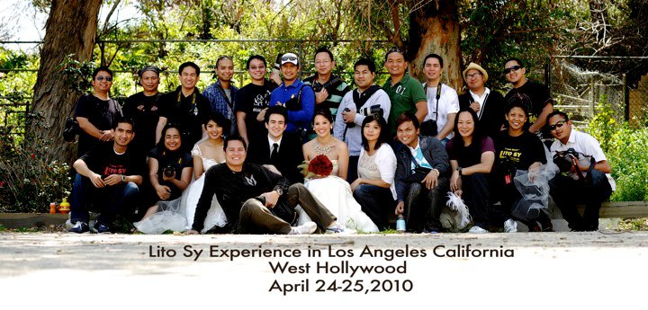 Apple and Cheese brings you Lito Sy in Los Angeles 2 Day Wedding Photography Workshop