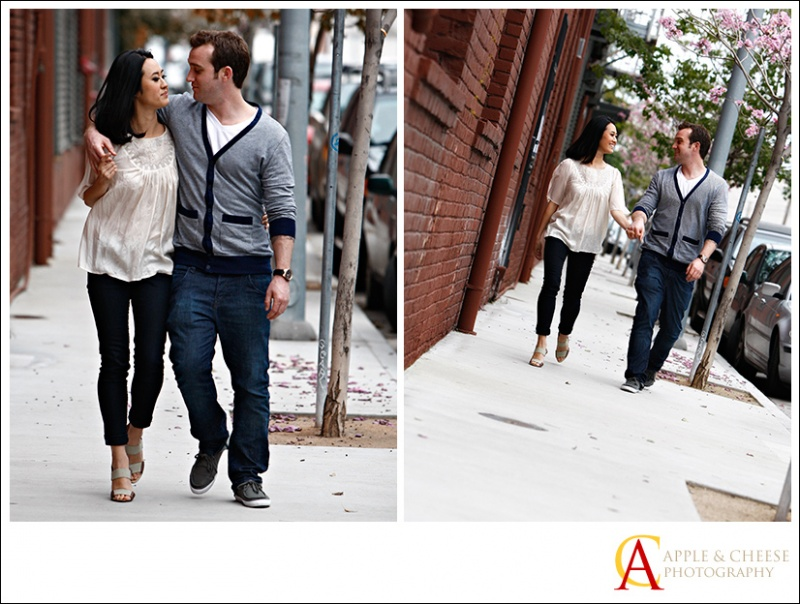 Kevin and Kelly Engagement Photography Session Los Angeles CA